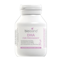 BioIsland孕妇海藻油DHA 60粒