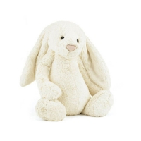 Jellycat英国邦尼兔 白色 Bashful Cream Bunny