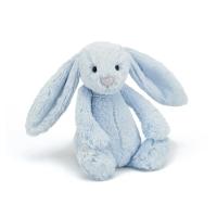 Jellycat英国邦尼兔 蓝色 Bashful bunny blue