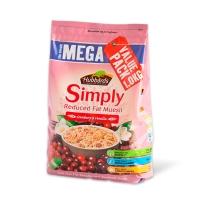 Hubbards Simply蔓越莓香草味麦片1kg