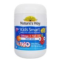 Nature's Way儿童Omega-3鱼油咀嚼胶囊三种口味180粒