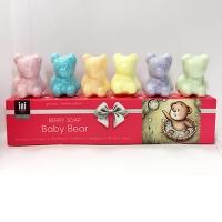 INI 混合莓子小熊皂 限量套装6只装