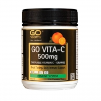 Go Healthy高之源橙子味维C咀嚼片200粒500mg