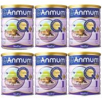 【6罐包邮】 安满(Anmum)婴儿配方奶粉1段900克 (0-6个月)婴儿奶粉 6罐包邮 日期:04/2022