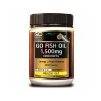 【活动】GO healthy高之源深海无腥鱼油1500mg 210粒 日期:08/2022