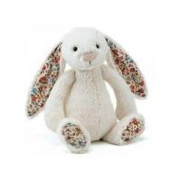 Jellycat英国邦尼兔 31cm 白色花耳朵 Blossom Bummy