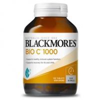 【全新包装】Blackmores 天然活性维生素C 1000毫克150片 日期:27/11/2022